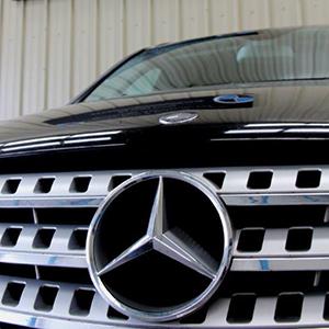 Mercedes Servicing - Brand badge